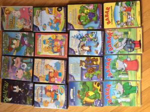 dvd et cassettes pour enfants