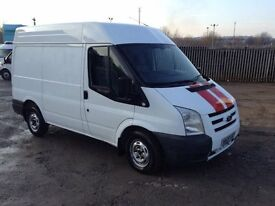 2009 ford transit 2.2 tdci 85T280 swb medium roof lx van