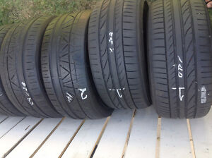 18' LOW PROFILE CAR TIRES PAIRS AND SETS