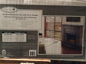 Wooden mantle ONLY -new