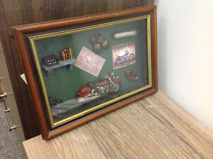 Harley Davidson Shadow Box