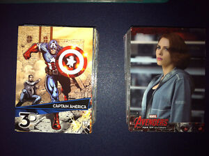 Marvel 3D Avengers Age of Ultron Cards SUBWAY Ghostbusters Glass