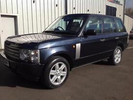 Land Rover Range Rover 4.4 V8 auto Vogue genuine 97k, 2 owners, 1 yrs mot, 2003