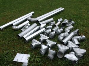 """HVAC duct work fittings 5"""" various items"""