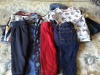 Bundle of Clothes. Boy age 12 to 18 months. 1 year to 1 1/2 years