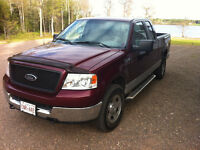 2005 Ford F150 4x4 ext 5.4L new MVI.