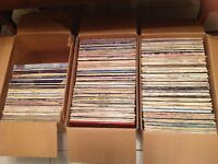 """12"""" Lps - approx 330. Various artists and genres"""