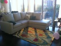 Tribal inspired area rug - 100% wool - 5 x 8' - price reduced!
