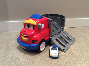 Little People Truck with car