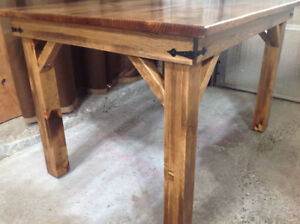 Harvest Table Brand New Hand Crafted