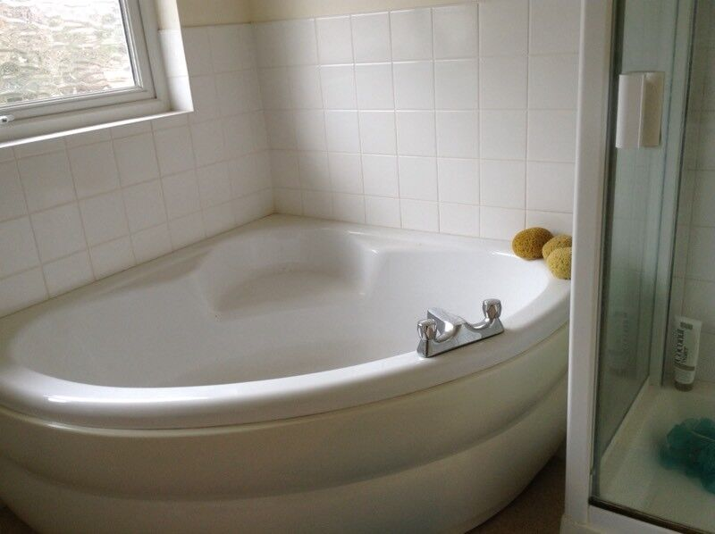 Corner Bath With Seat And Taps In Norwich Norfolk Gumtree