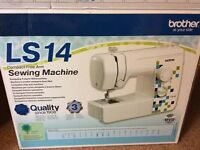 Brother LS14 Compact Free Arm Sewing Machine, Never Used.