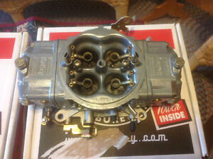 2 Holley 750 Blower Carburators