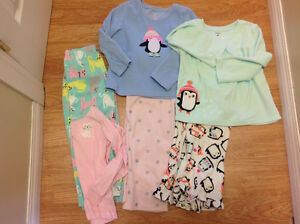 4t carters fleece pjs
