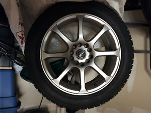 TOYO 225/50/17 Winter Tires and MSR Rims for Audi