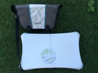 Wii fit platform, CD and console storage bag