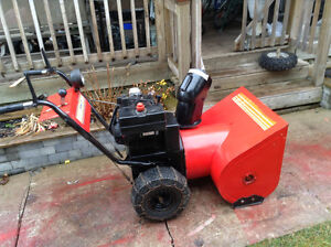 8 hp snowblower with electric starter
