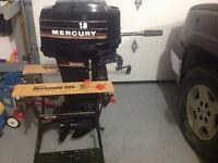 18 Horse Mercury Boat Motor
