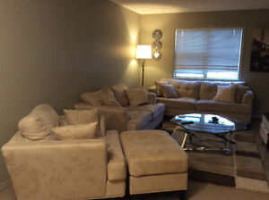 New/hardly used furniture for sale!