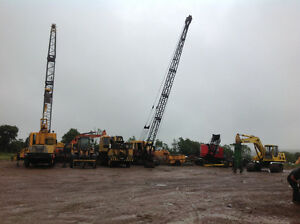 Buying complete trucks/engines/heavy equipment and cranes