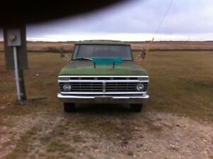 73 Ford Camper special complete or part out