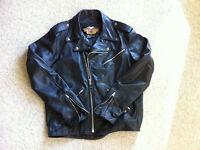 $200 - Harley Davidson Leather Motorcycle Jacket