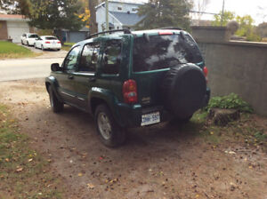 2004 Jeep Liberty Limited SUV, Crossover