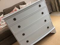 Shabby to Chic - regency style chest drawers