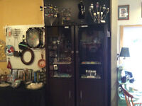 Glassed in Display CABINETS!