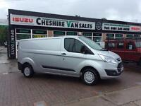 64 TRANSIT CUSTOM 2.2 290 TREND LWB L2H1 125 BHP CHOICE FSH OPEN 7 DAYS 200 VANS