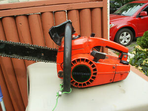 "Craftsman 16"" chain saw"