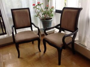 Chaises Capitaines
