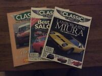 Classic & Sportscar Magazines