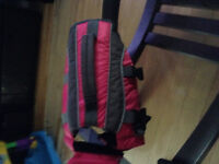 Size small pink life jacket for dog