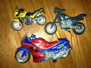 Collection of toy motorcycles for sale