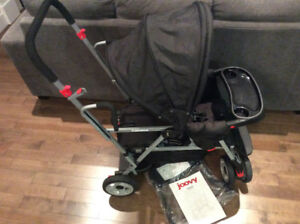 Brand new, Joovy Caboose Sit n stand tandem double Stroller