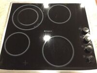 Hotpoint 4 ring hob used only for 6 months