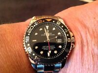 Brand new ROLEX GMT 2 black face and bezel £50.00+£5.00p+p