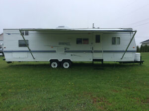 32 foot camper with bunks