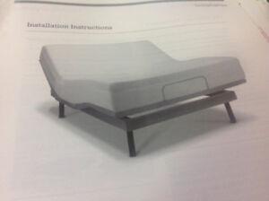 Adjustable Bed - Double - Like New!