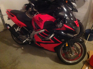 Honda CBR 600F4 and jacket for sale