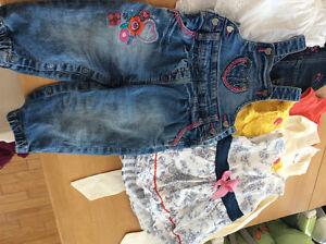 Vêtements fille, 12 mois
