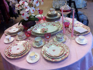 Limoges fine china place setting
