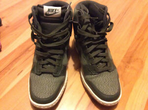 NIKE WEDGE DUNKS GREEN