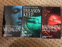 Selection of fantasy novels