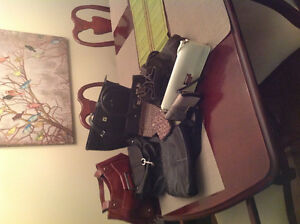 Selection of ladies purses and walletts