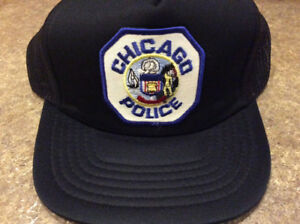 Vintage Chicago police hat