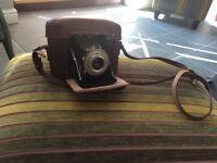 Two vintage cameras