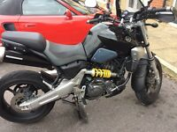 Yamaha mt03 12 month mot 2007