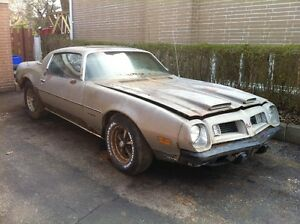 1970 to 1976 Firebird or Trans Am part/project cars